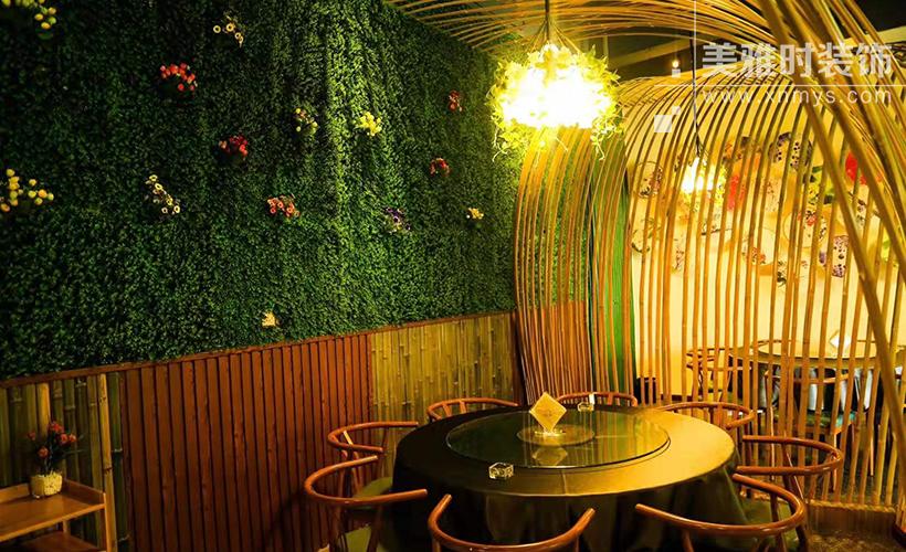 成都生态餐厅的装修设计有什么特点