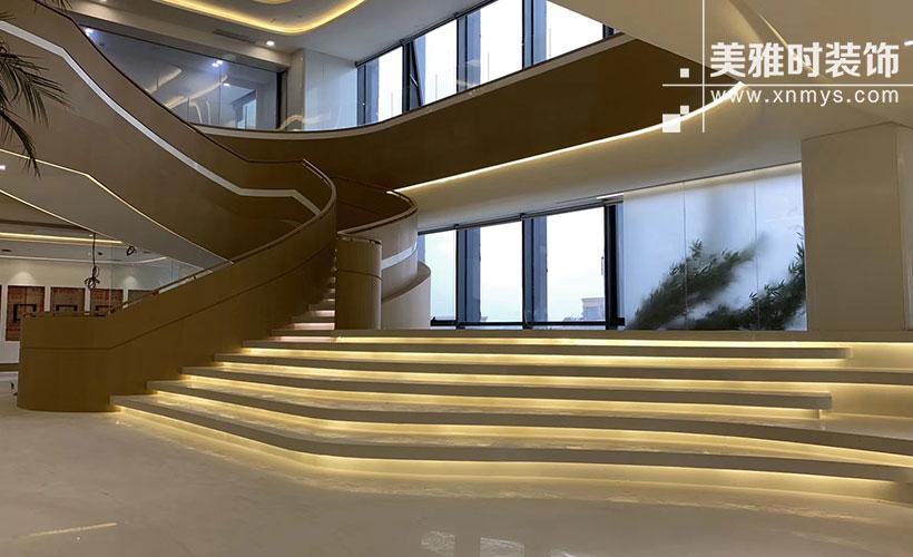 成都高端大气的办公楼装修设计达哪些些标准更能突显企业文化