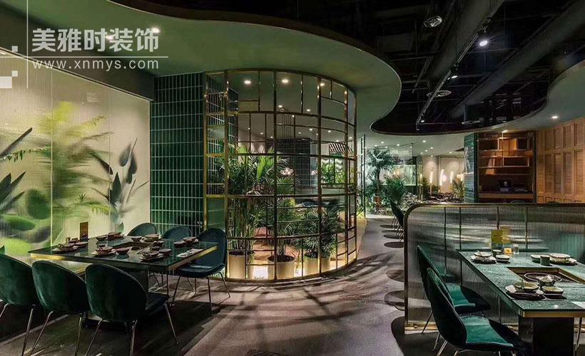 成都锦江区300平特色火锅店装修设计风格
