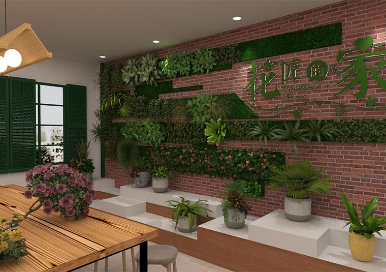 成都双流大井社区办公室装修设计
