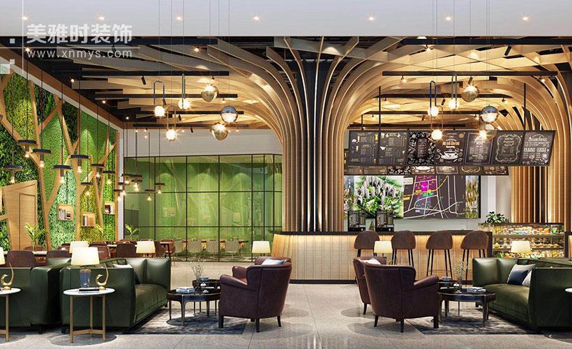 成都100平餐厅装修价钱是多少?餐厅怎么装修美观实用?