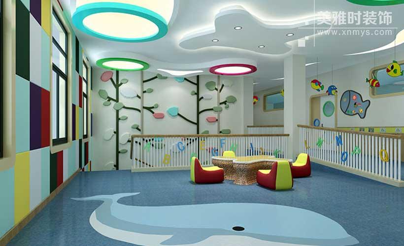 成都幼儿园空间环境装修设计合理布局
