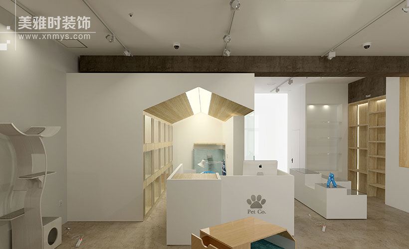成都成华区60平宠物店黑龙江11选5走势图一定牛设计时需要注意什么?