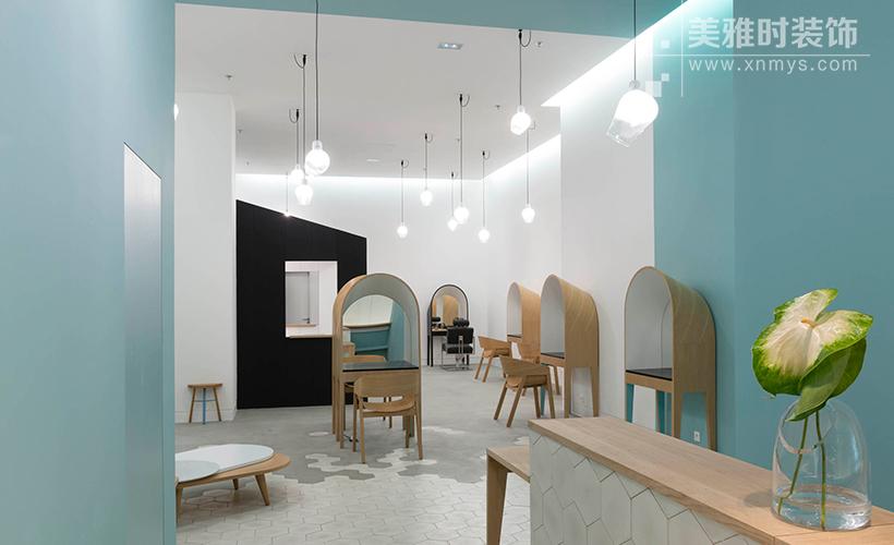 中高端美容院黑龙江11选5走势图一定牛设计如何让空间合理化?