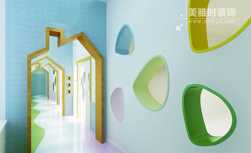 成都幼儿园空间装修设计合理的布局