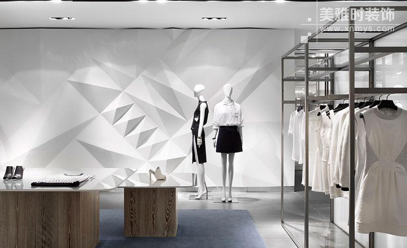 服装店装饰设计的五个要点体现个性化特征