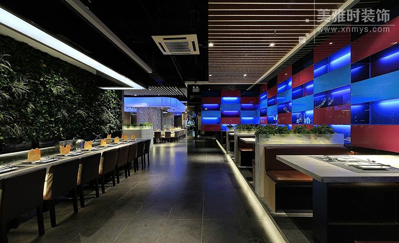 成都餐厅的装修设计风格直接影响到商业表现趋势