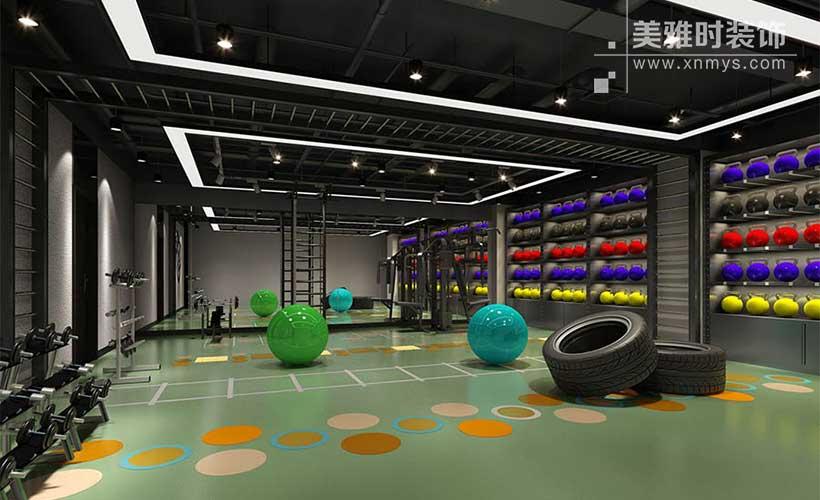 成都健身房装修空间如何设计布局