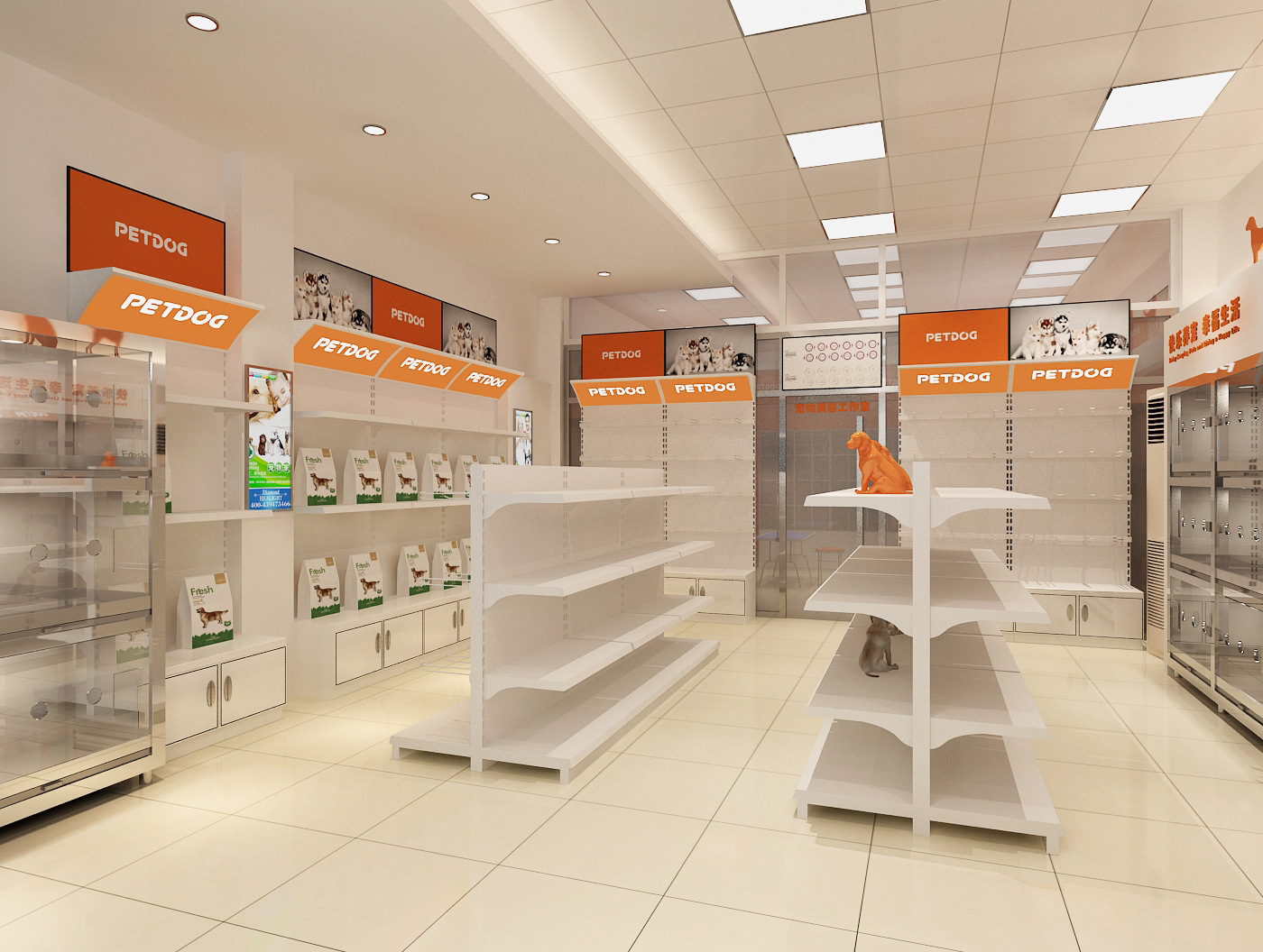 成都宠物店装修空间设计重点,这些位置需要设计好